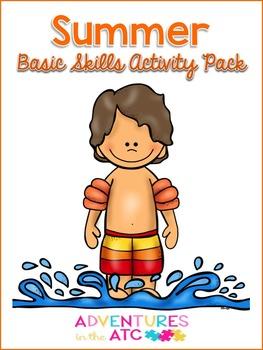 Summer Basic Skills Activity Pack