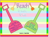 Summer Beach 10 more 10 less Differentiated (common core aligned)