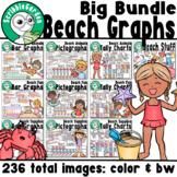 Summer Beach 3 Category Graphs: Big Bundle
