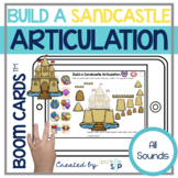 Summer Beach Articulation Boom Cards™️ for Speech Therapy