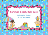 Summer Beach Ball Bash: /r, s, l/ and blends