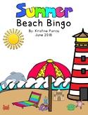 Summer Beach Bingo
