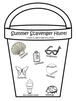 Summer Beach Bucket Goals Book