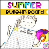 Summer Beach Bulletin Board