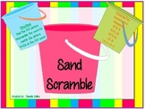 Summer Beach CVC Scramble (Common Core Aligned)