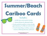 Summer/Beach Cariboo Cards