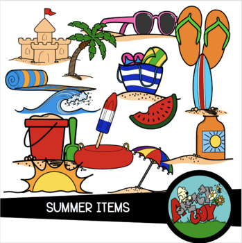 Summer / Beach Clip art