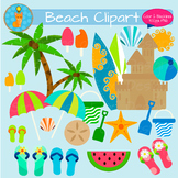 Summer Beach Clipart