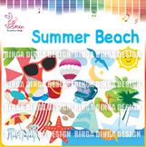 Summer Beach Cliparts