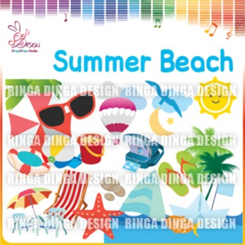 Summer Beach Cliparts