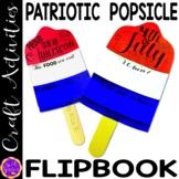 Patriot's Day Patriotic Popsicle