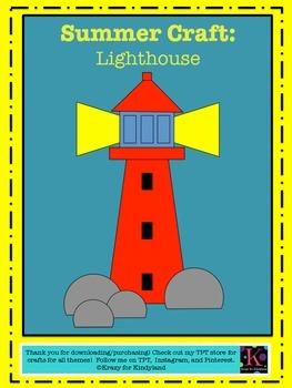 Summer / Beach Craft: Lighthouse
