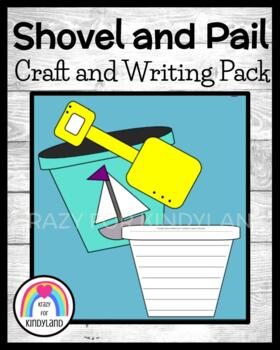 Shovel and Pail Craft and Writing (Summer, Beach)