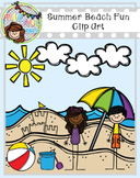 Summer Beach Fun Clip Art (Polka Dots and Pals)