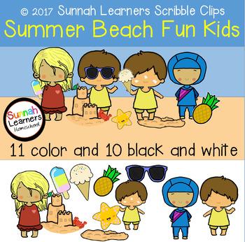 Summer Beach Fun Kids