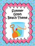 Summer Beach Pail Glyph