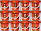 Summer Beach Pail and Shovel Letter Matching Color or Blackline
