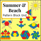 Summer & Beach Pattern Block Unit