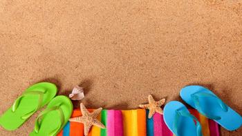 Summer Beach PowerPoint Template