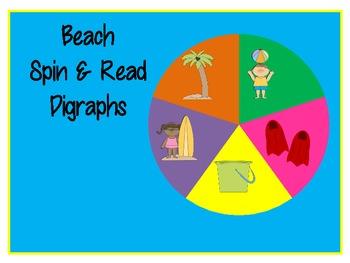Summer Beach Spin & Read Digraphs