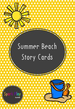 Summer Beach Story Cards