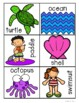 Summer - Beach Syllables Sort Practice