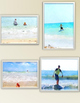 Watercolor Summer Beach Landscapes Clip Art