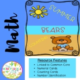 Summer Bears Counting