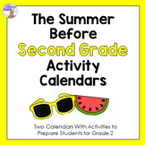 Summer Activity Calendars (Second Grade)