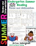 Orton-Gillingham Summer Kindergarten to First Grade Interv