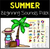 Summer Beginning Sounds Pack