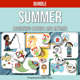 Summer Beginning Sounds and Rhymes