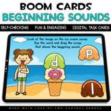 Summer Beginning Sounds for Boom Cards™