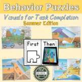 Summer Behavior Puzzles: Visuals for Task Completion