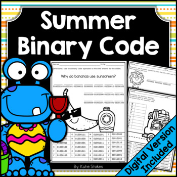 Summer Binary Code STEM Activities