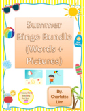 Summer Bingo BUNDLE (pictures + words)