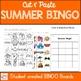 Summer Bingo Cut and Paste