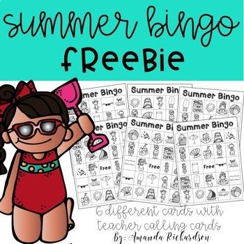 Summer Bingo FREEBIE