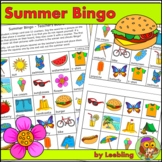 Summer Bingo Game - Fun End of Year Activity