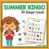 Summer Bingo Game - Summer Activities for Kindergarten