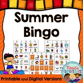 Summer Bingo: Printable and Digital Versions!