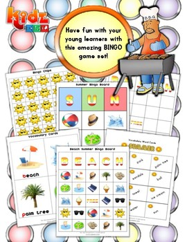 Summer Matching / Bingo Activities