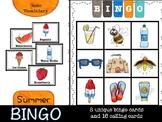 Summer Bingo (basic vocabulary practice)