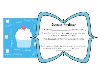Summer Birthday Celebration