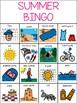 Summer - Boardmaker Bingo