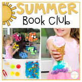 Summer Book Club for Tot School and Preschool