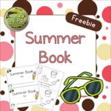 Summer Book Emergent Reader