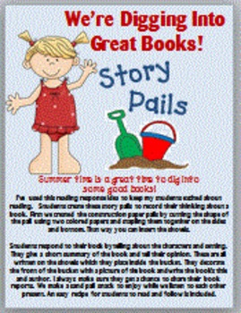 Summer Book Response Report: Story Pails