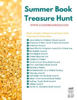 Summer Book Treasure Hunt