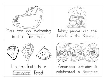 Summer Booklet